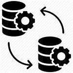 Data Icon Sync Database System Synchronization Backup