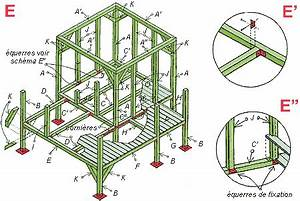 Plan Cabane En Bois Pdf : plan cabane enfants piloti bois palette plan cabane ~ Melissatoandfro.com Idées de Décoration