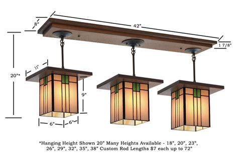 craftsman style lighting fixture 502