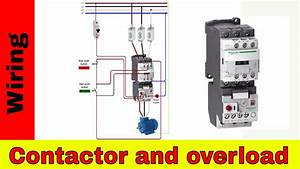 How To Wire A Contactor And Overload - Direct Online Starter