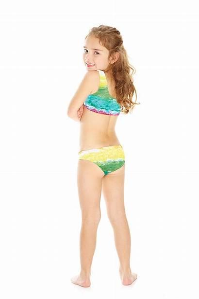 Bikini Bra Sports Rainbow Terez Cake Swim