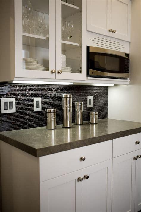 black backsplash kitchen black tile backsplash kitchen contemporary with above