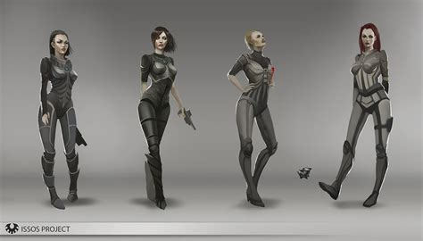 Mass Effect Tabletop Rpg by Sci Fi Armor Design By Telthona On Deviantart