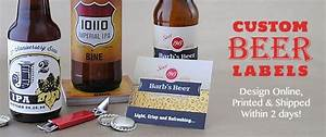 beer bottle labels personalized homebrew labels With beer with your own label