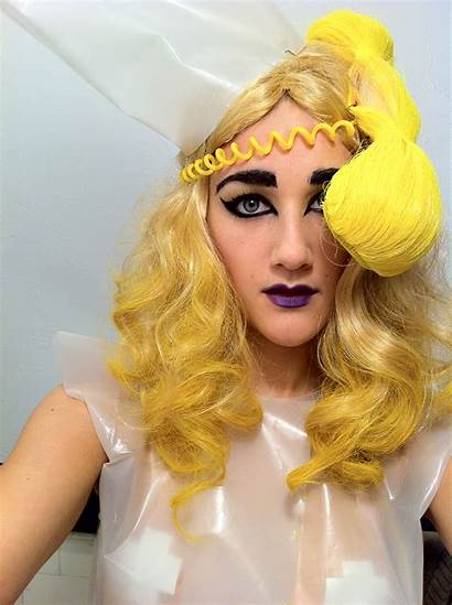 Gaga Lady Telephone Costume Waitress Halloween Burdastyle