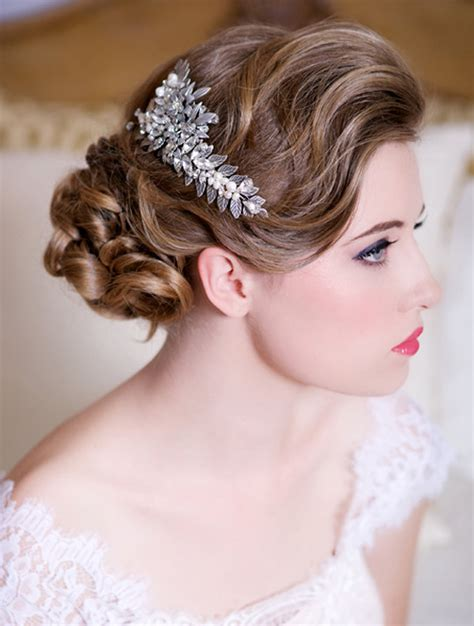Bridal Hair Accessories by Glam Bridal Hair Accessories Weddings Romantique