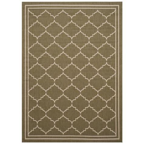 home depot patio rugs safavieh courtyard green beige 8 ft x 11 ft indoor