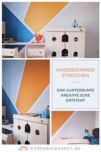 Kreative Ideen Fürs Kinderzimmer : bold inspiration ideen f rs kinderzimmer streichen muster wand jugendzimmer madchen zimmer ~ Sanjose-hotels-ca.com Haus und Dekorationen