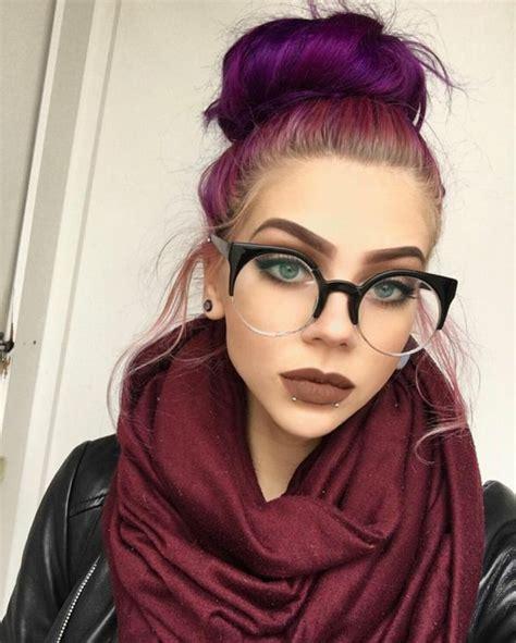 couleur prune cheveux coupes de cheveux et coiffures