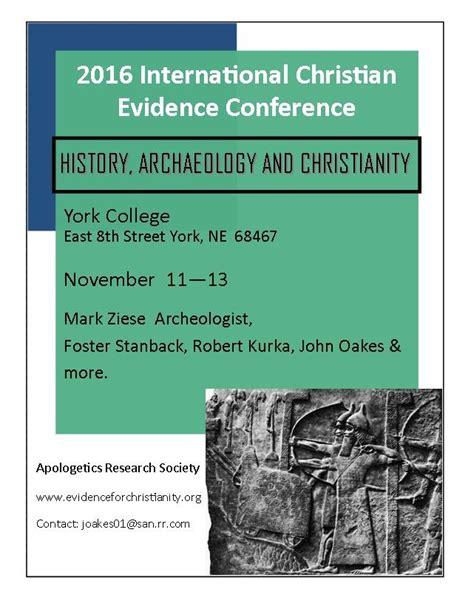 September Ars Newsletter  Evidence For Christianity