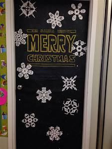 Star, Wars, Christmas, Door