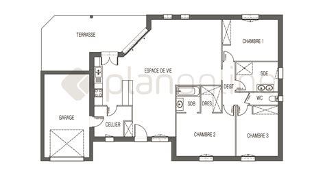 chambre avec sdb et dressing simple plan chambre avec salle de bain et dressing maison