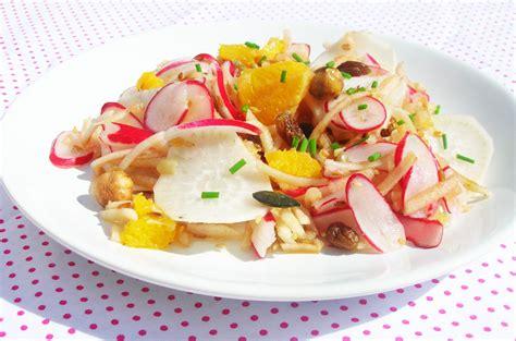 cuisine radis noir recette de salade diététique de carotte et radis noir au