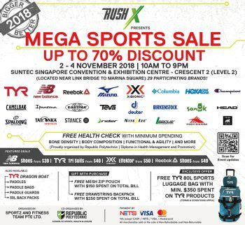 We specialize in cleaning both domestic and commercial properties. 2-4 Nov 2018: TYR Mega Sports Clearance Sale - SG ...