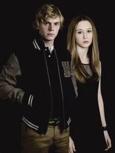 Evan Peters as Kyle and Taissa Farmiga as Zoe, Coven ...