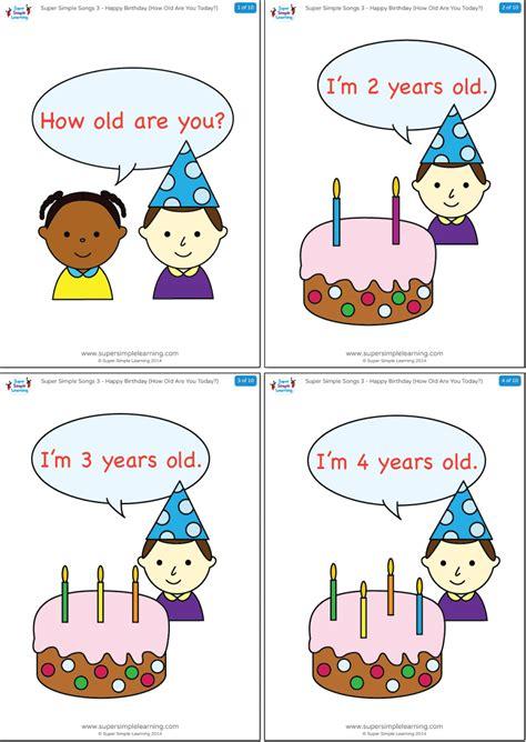 happy birthday     today flashcards super