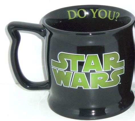 The best travel mugs need to do two things extremely well: Disney Yoda Star Wars Coffee Mug Cup Misprinted RARE Lucasfilm Disneyworld New #DisneyThemeParks ...