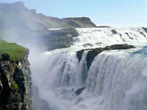 Gullfoss Waterfall Backgrounds by Most Beautiful Waterfalls On Earth Travel