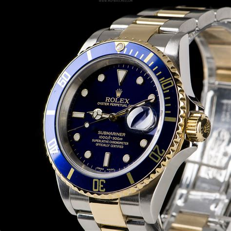 Rolex Submariner Date Ref: 16613LB Two-tone gold/steel ...