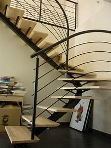 escalier exterieur quart tournant fashion designs With escalier metallique exterieur leroy merlin 4 escalier quart tournant bas gauche auvergne structure bois
