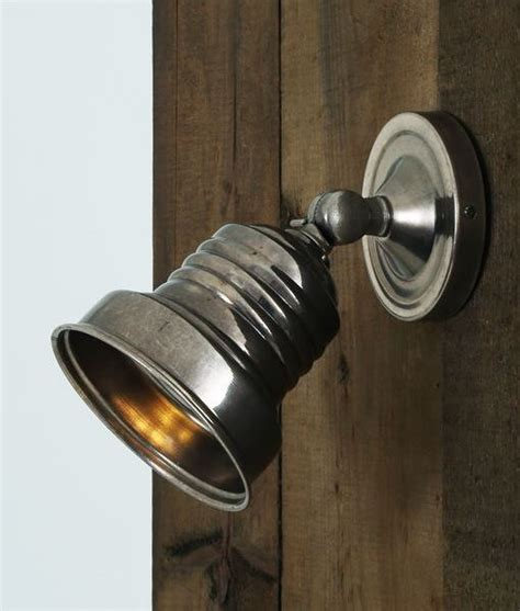 vintage adjustable wall mounted spot light four finishes