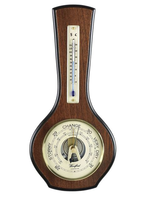 wall clock woodford wall barometerr thermometer hygrometer silver2love