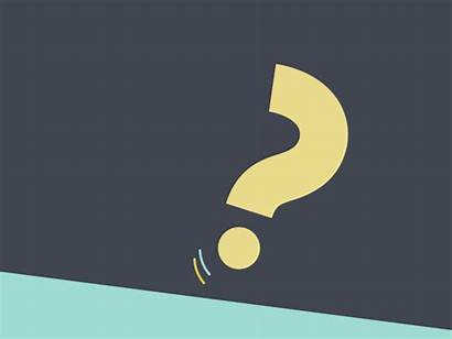Question Dribbble Animation Motion Questions Animated Graphics