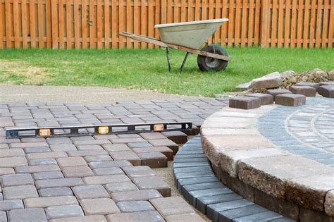 pea gravel patio construction build a pea gravel patio with this 5 step guide hanson
