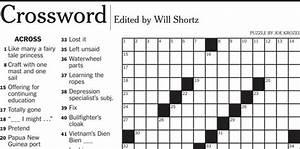 beef erupts over crossword guru39s hip hop slang clue wfsu With big letter crossword puzzles