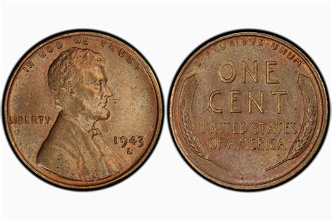 1943-s Lincoln Cent Sells For  Million