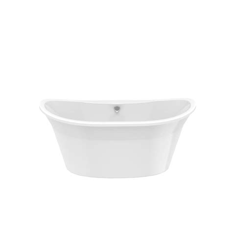 Maax Freestanding Tub by Maax Orchestra 5 Ft Freestanding Front Drain Bathtub In