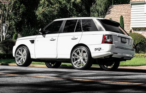 chrome range rover land rover range rover sport niche ritz wheels brushed