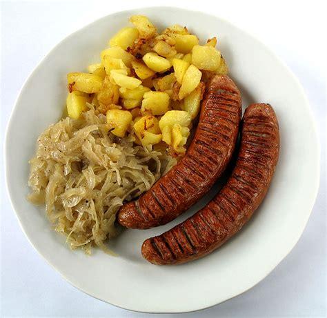 cuisine slovaque bratwurst