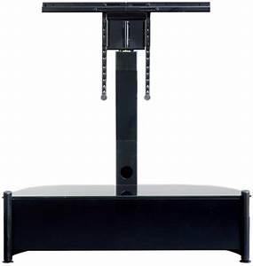Meuble Avec Support Tv : meuble support tv ateca unique 335 noir tous les ~ Dailycaller-alerts.com Idées de Décoration