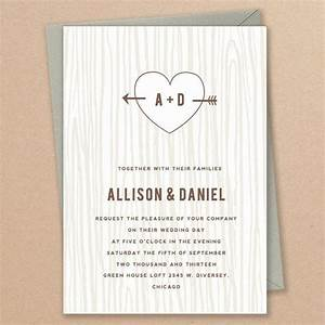 Printable invitation template instant download initial for Free printable tree wedding invitations