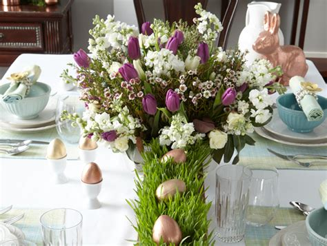 Easter Home Decor Styling: Easy-but-Elegant Tabletop Decor For Easter