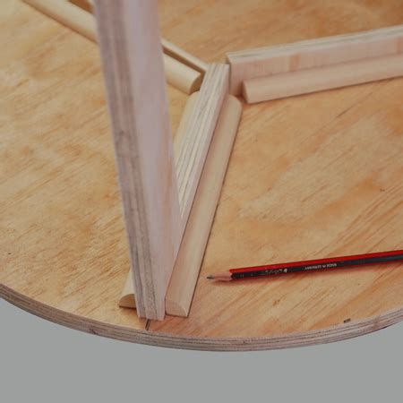 glue quarter make a danish style side or coffee table designmind