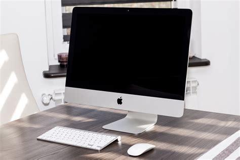 pc bureau apple imac pc es apple kostenloses foto auf pixabay