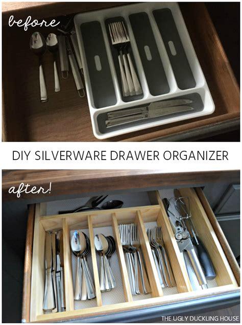 Diy Kitchen Drawer Organizer by 10 To Organized Diy Silverware Drawer Organizer