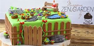 Marzipan zen garden ein susser platz zum entspannen for Küchenb nke