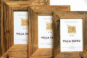 Spiegel 80 X 80 : bilderrahmen aus recyceltem altholz ~ Whattoseeinmadrid.com Haus und Dekorationen