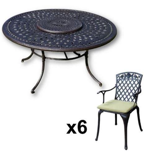lazy susan furniture frances 150 cm 6 seater cast