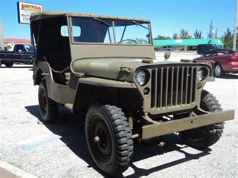1942 ford jeep classic vintage
