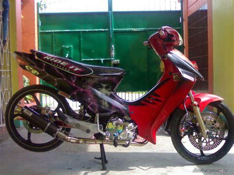 galeri foto modifikasi motor shogun sp terbaru modif