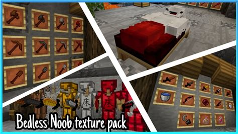§bedless Noob§ 60k Pvp Texture Pack Showcase For Mcpe
