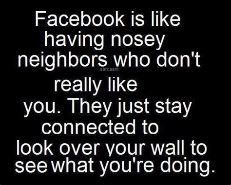 nosey quotes for facebook
