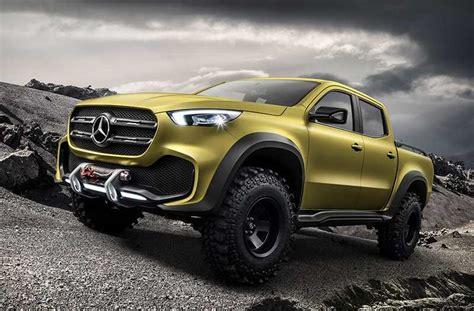 mercedes benz x class concept truck wordlesstech