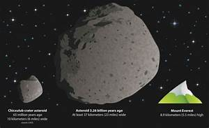 Dinosaur Killer Asteroid Size (page 3) - Pics about space