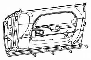 2010 Dodge Molding Kit  Door Belt   Mopar Hood Scoop