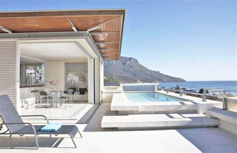 louer une maison moderne avec piscine et vue mer pour photos et tournages 224 cape town afrique du